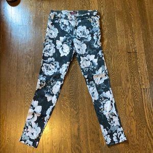 Motel Rocks floral pants size M